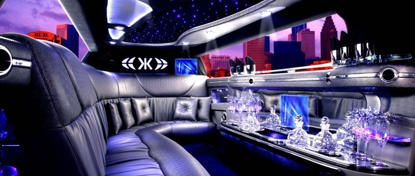 Interieur Hummer Hollywood limo